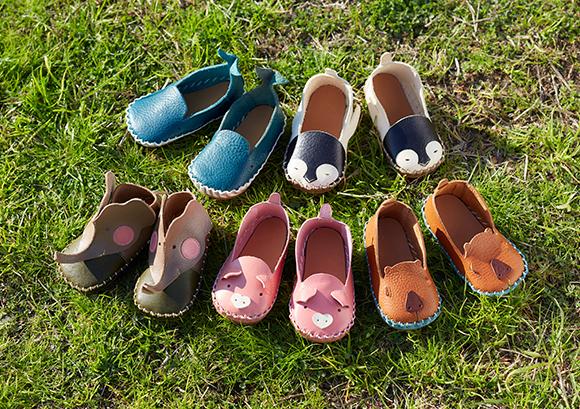 first shoe Zoo(アトリエグランパ)- はじめの一歩をいつまでも思い出に<br /> 本革でつくるファーストシューズ