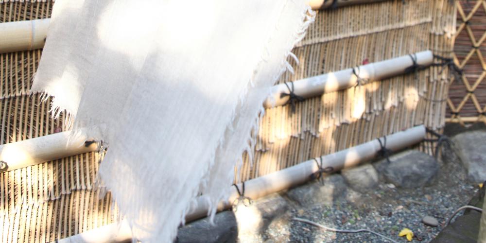 カシミヤストール(細川毛織株式会社)