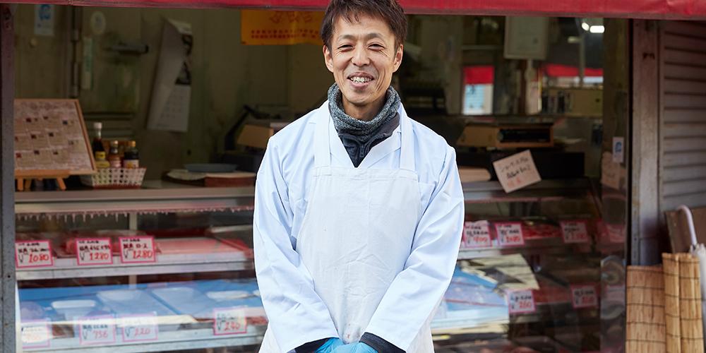 マルヨのどて焼き(マルヨ精肉店)