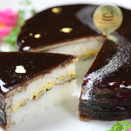 穴子寿司ケーキ