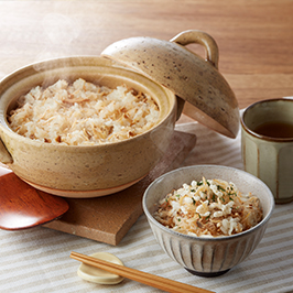 日本の乾燥野菜デリあみえび生姜の炊き込みご飯