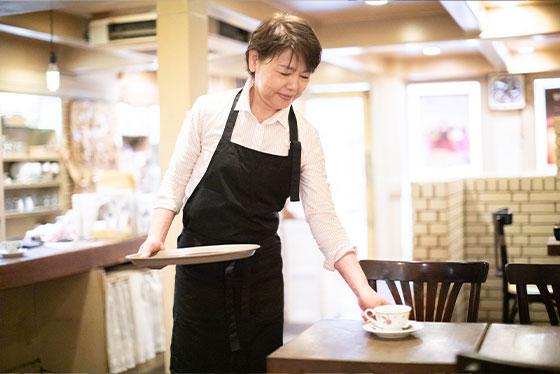 麻布珈琲店の名物ママ