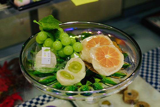 大阪中央卸売市場から直接仕入れた季節の味を楽しむフルーツ大福