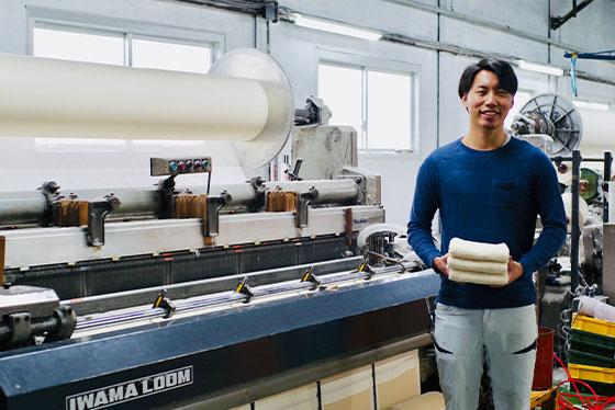 泉州タオルメーカーの三代目が作る、 人にそして、環境にも優しい「生タオル」