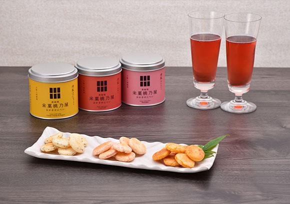 鉄板焼おかきせんべい「大人の燻製シリーズ」(株式会社米菓桃乃屋)- お米の旨味と燻製の風味が絶妙にマッチ